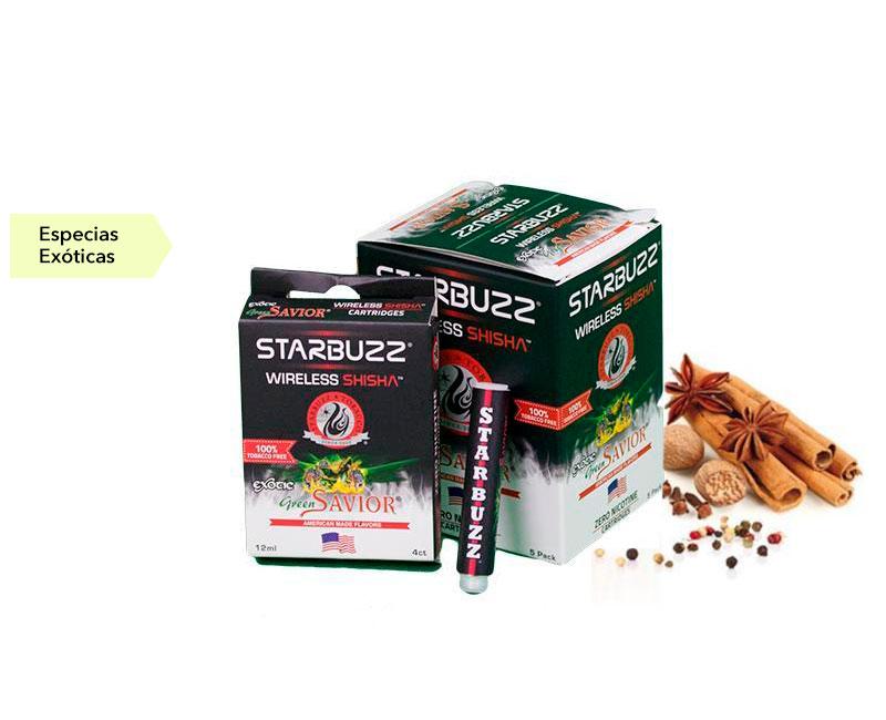 CAJA 5 BLISTER RECAMBIO STARBUZZ EXOTIC GREEN SAVI
