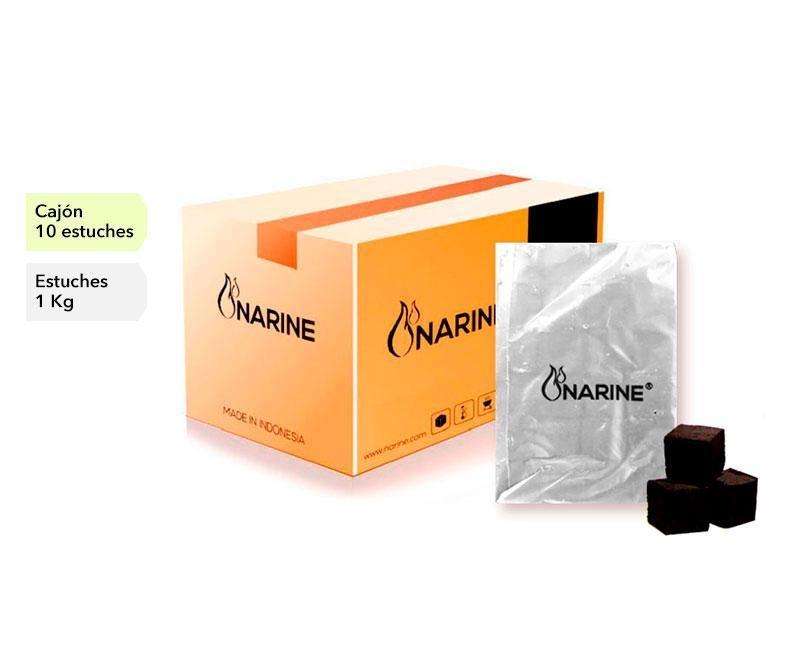 NARINE COCO CAJON 10 PACKS X 10 CAJAS 1 KG