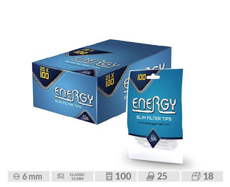 EXP 25 BOLSAS 100 ENERGY FILTER TIPS