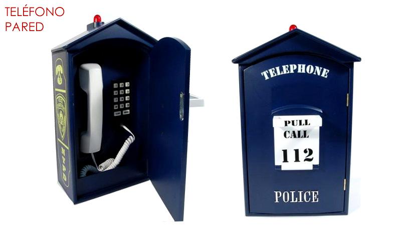 TELEFONO DOREX PARED POLICIA
