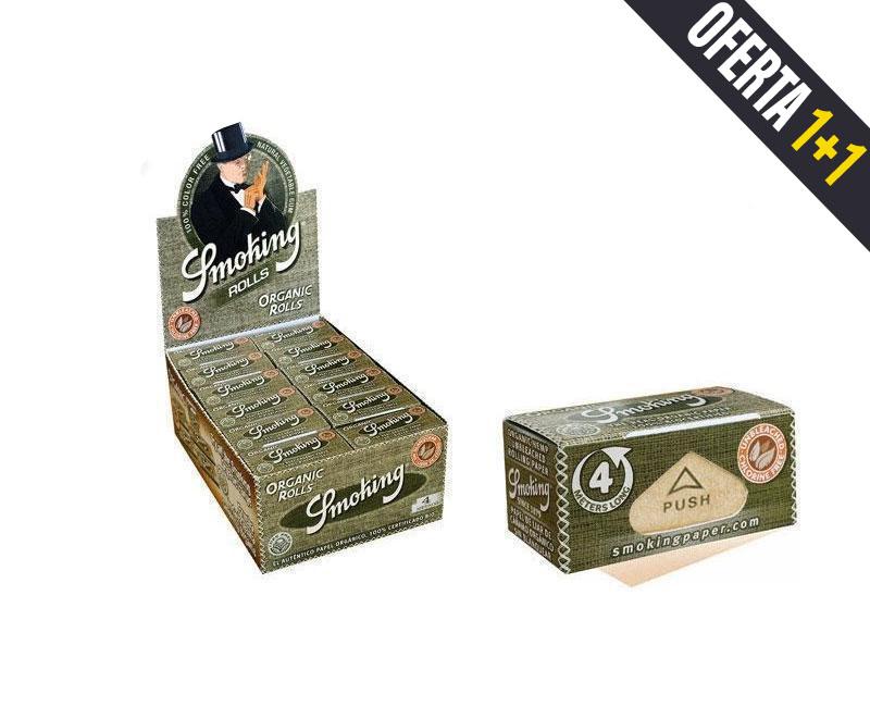 EXP 24 SMOKING ORGANICO ROLLOS