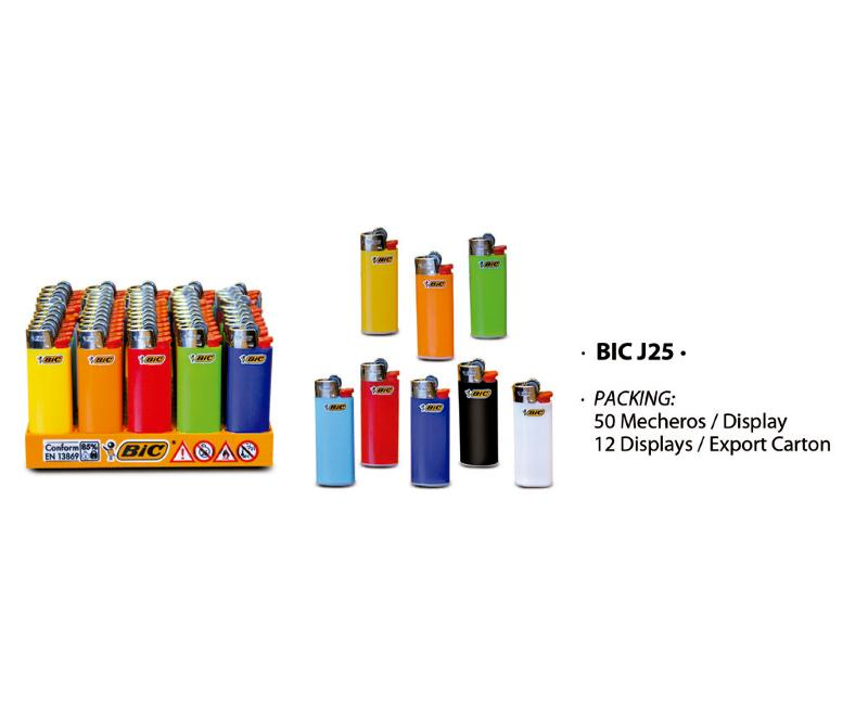 EXP 50 BIC J25 MECHERO MINI