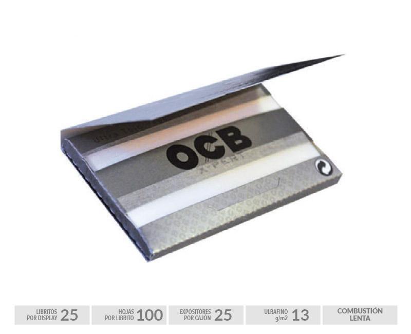 EXP 25 OCB X-PERT SILVER DOBLE