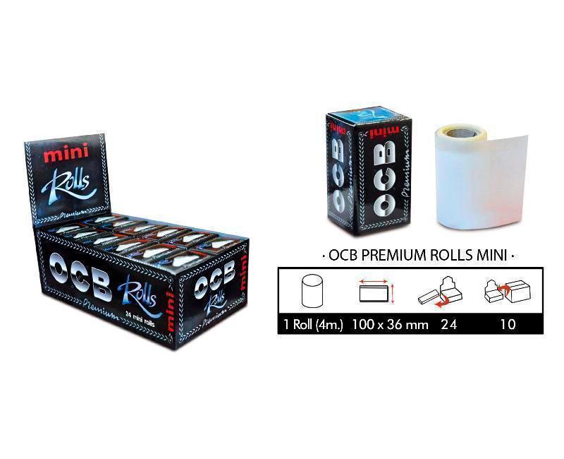EXP 24 OCB PREMIUM ROLLS MINI