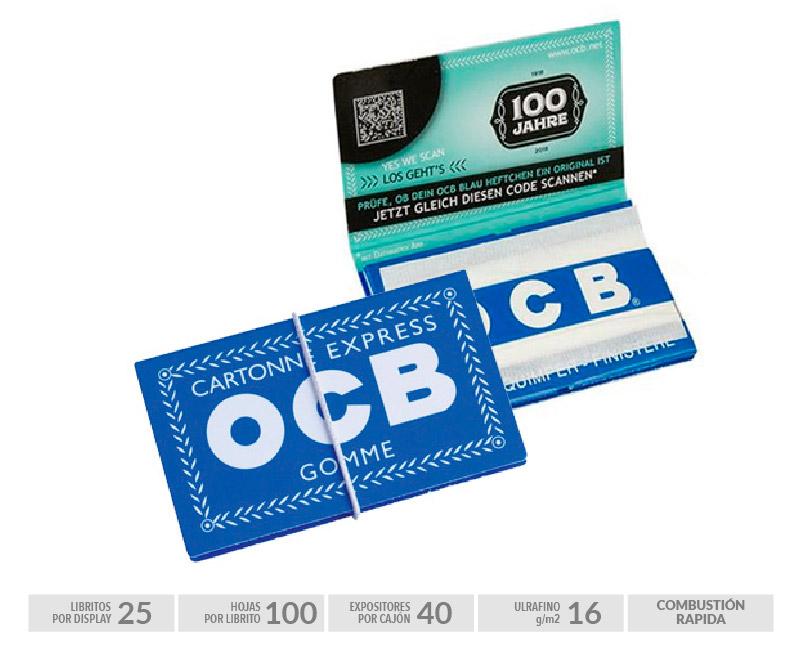 EXP 25 OCB GOMME Nº 4 BLUE
