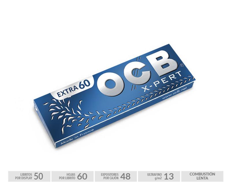 EXP 50 OCB X-PERT BLUE de 60 HOJAS