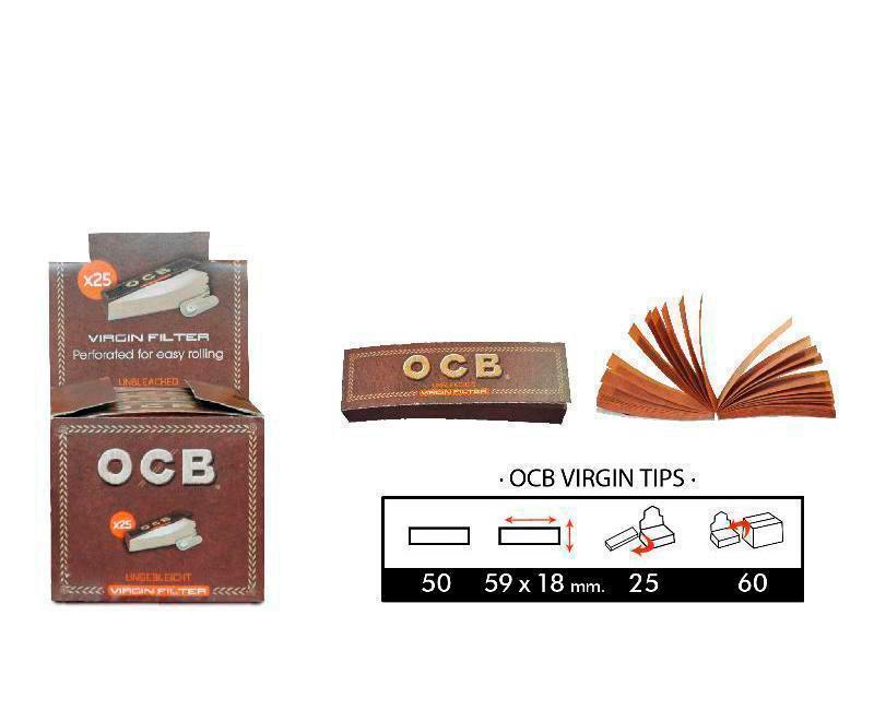 EXP 25 OCB VIRGIN TIPS