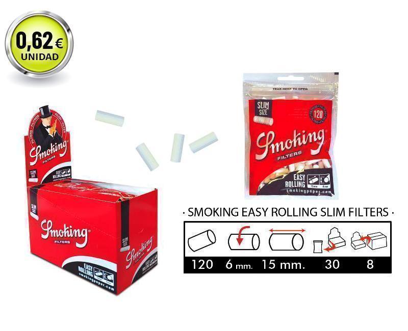 EXP 30 SMOKING EASY ROLLING SLIM FILTERS