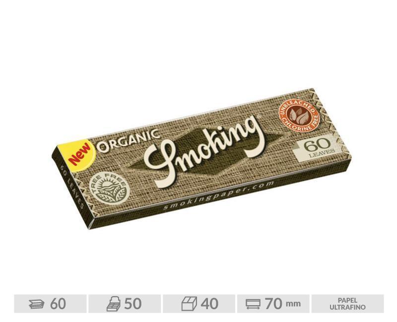 EXP 50 SMOKING ORGANICO REGULAR 70mm