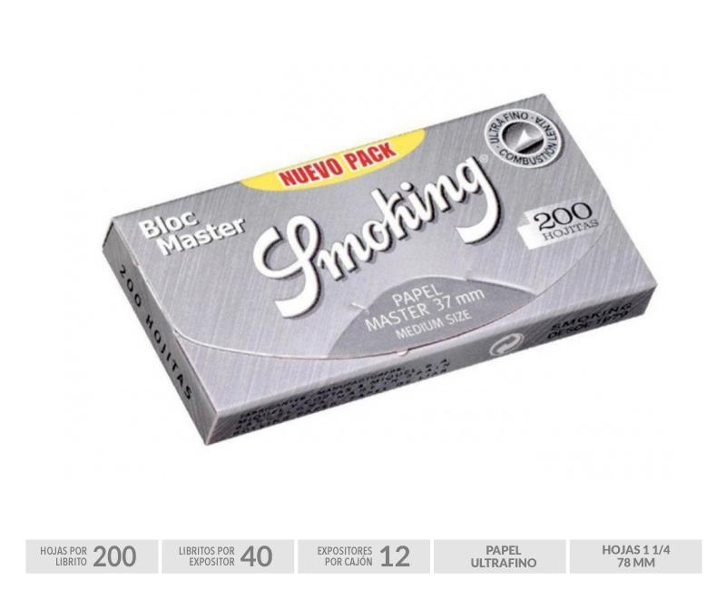 EXP 40 SMOKING BLOC SILVER 200