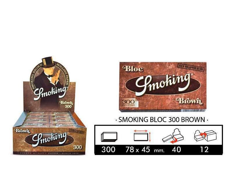 EXP 40 SMOKING BLOC 300 BROWN