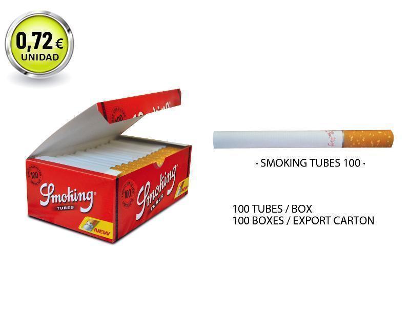 CAJÓN SMOKING TUBOS 100