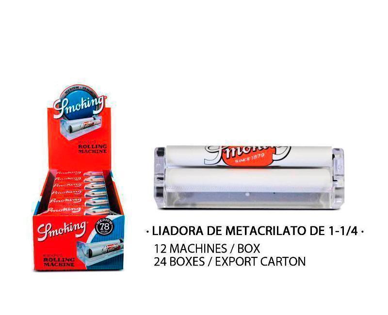 EXP 12 SMOKING LIADORA DE METACRILATO DE 78MM