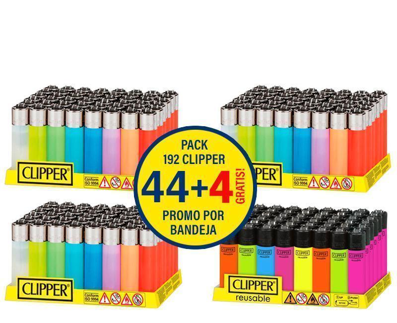 CLIPPER CP11 TRANSLUCIDO (4 x EXP 48)