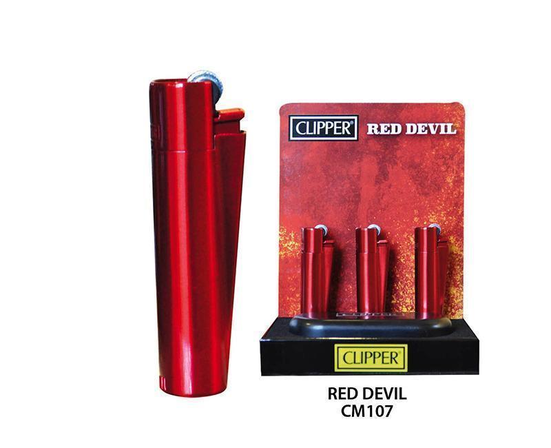 EXP 12 CLIPPER METAL RED DEVIL CM107