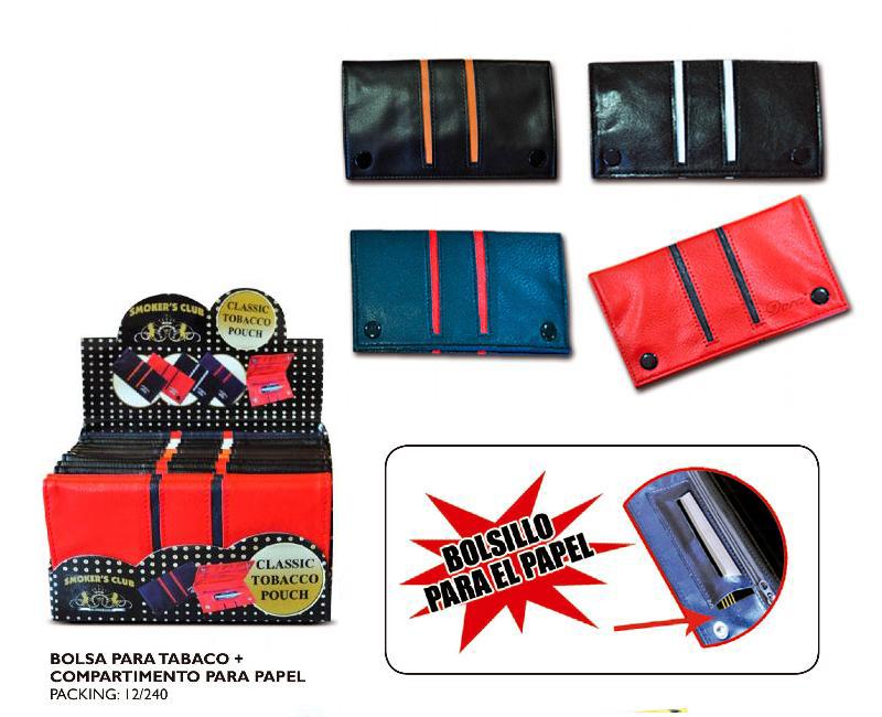 DORA EXP 12 BOLSA TABACO SMOKER´S CLUB