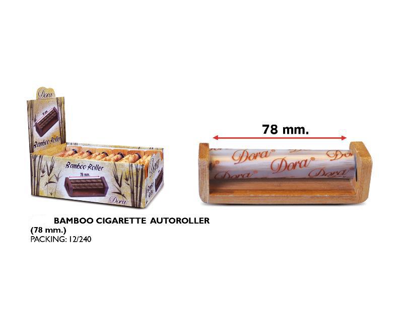 DORA EXP 12 BAMBOO CIGARETTE AUTOROLLER 78mm