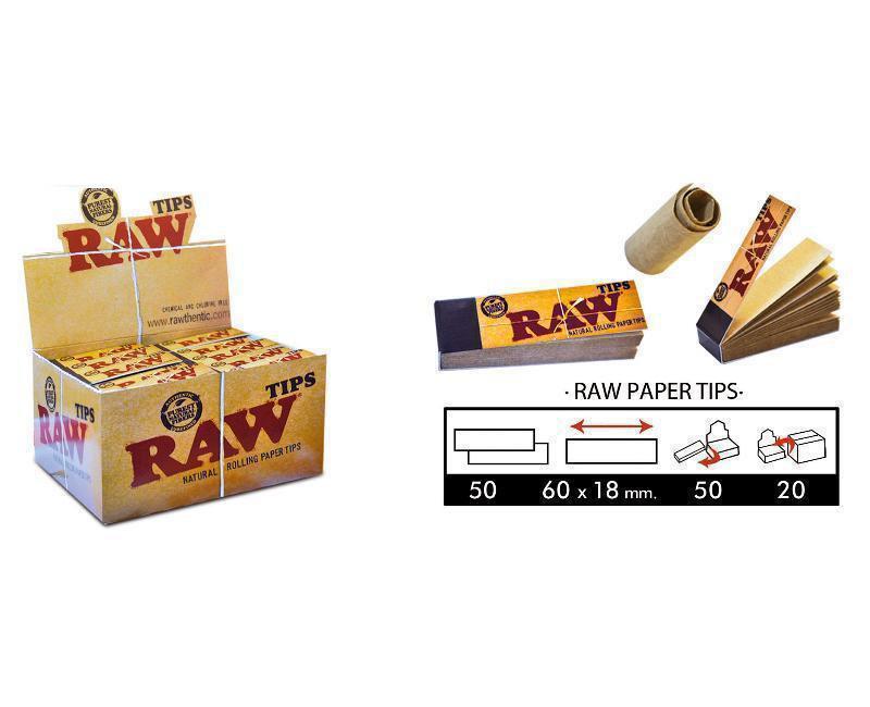 EXP 50 RAW FILTROS TIPS