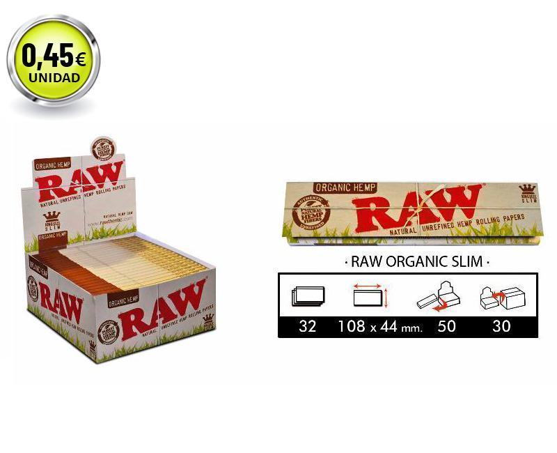 EXP 50 RAW ORGANIC SLIM