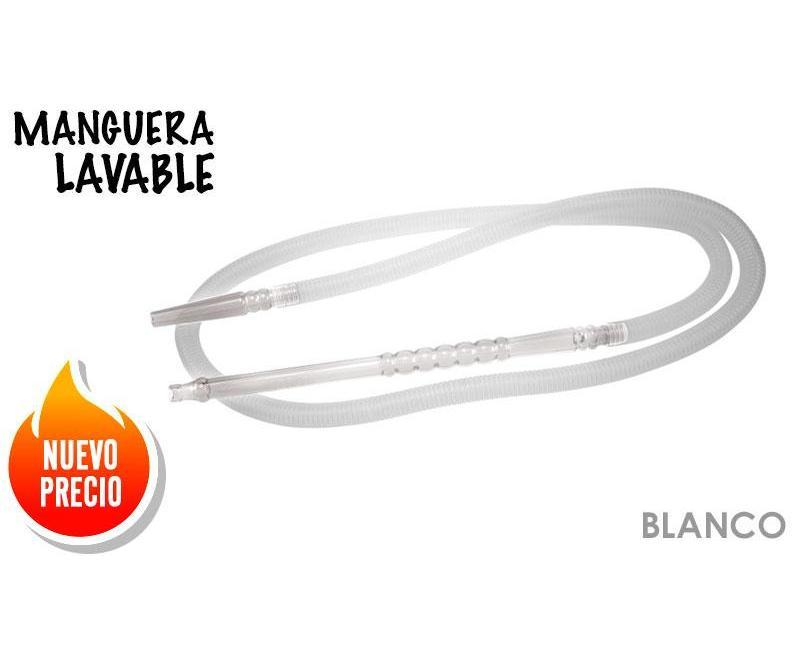 MANGUERA BSA PLASTICO LAVABLE BLANCA