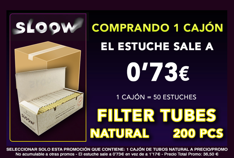 200 CAJON TUBOS NATURAL CLASSIC SLOOW