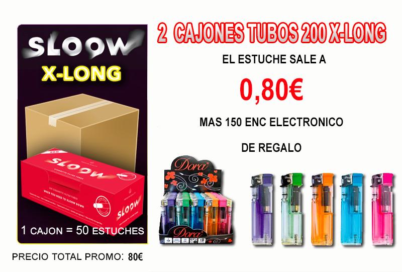 200 X-LONG 2 CAJONES TUBOS SLOOW ENC