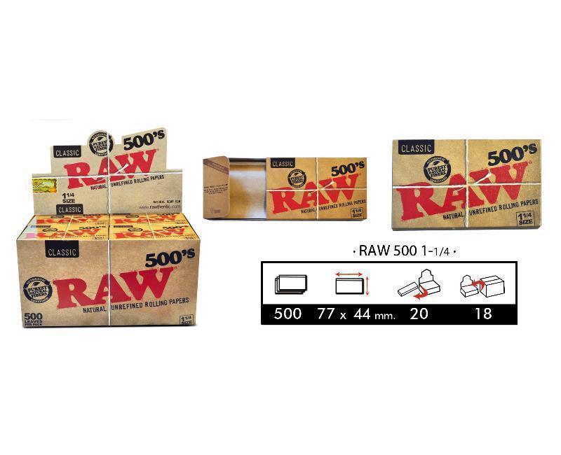 EXP 20 RAW BLOC 500