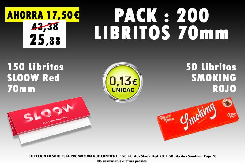 70mm 170 LIBRITOS SLOOW + SMOKING