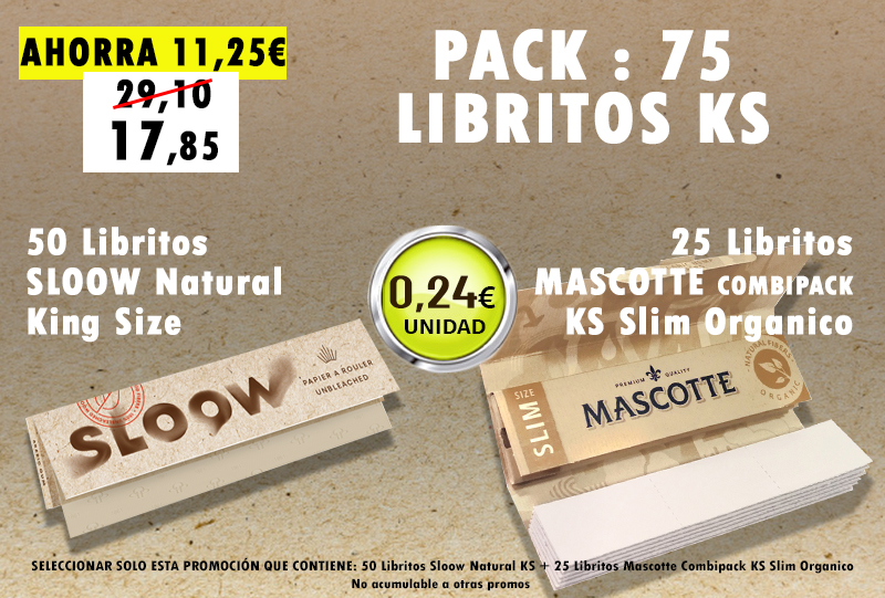 KSN 75 LIBRITOS SLOOW + MASCOTTE ORG