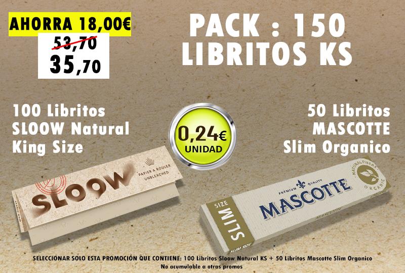 KSN 150 LIBRITOS SLOOW + MASCOTTE S ORG