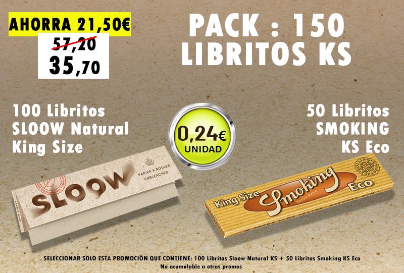 KSN 150 LIBRITOS SLOOW + SMOKING ECO