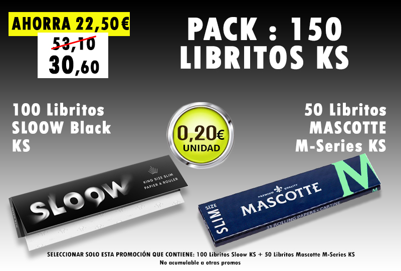 KS 250 LIBRITOS SLOOW + MASCOTTE M