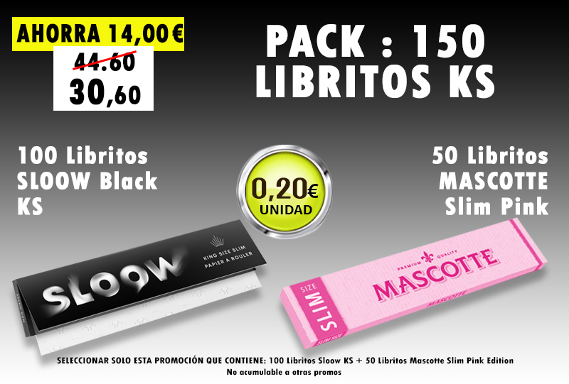 KS 200 LIBRITOS SLOOW + MASCOTTE PINK
