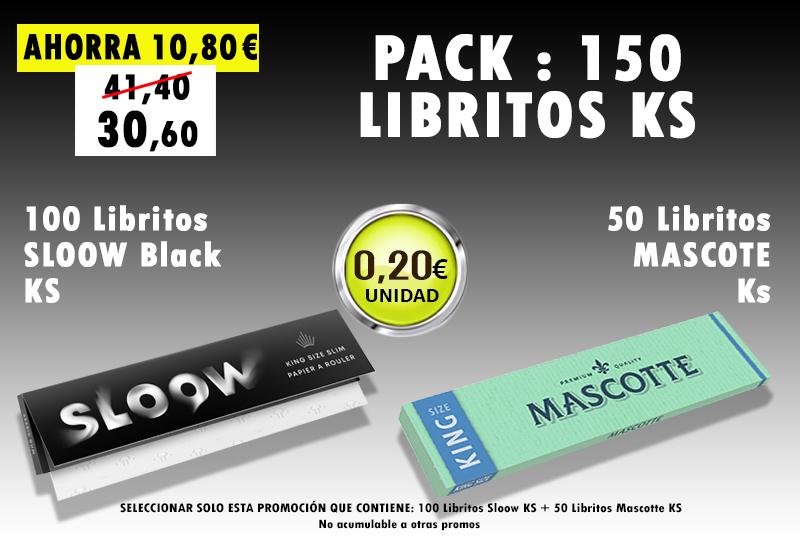KS 150 LIBRITOS SLOOW + MASCOTTE