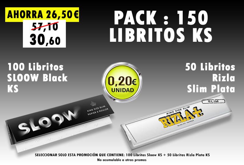 KS 300 LIBRITOS SLOOW +RIZLA PLATA