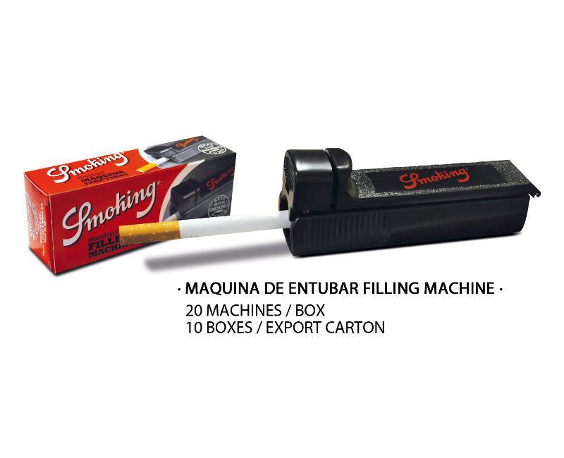 SMOKING MAQUINA DE ENTUBAR FILLING MACHINE