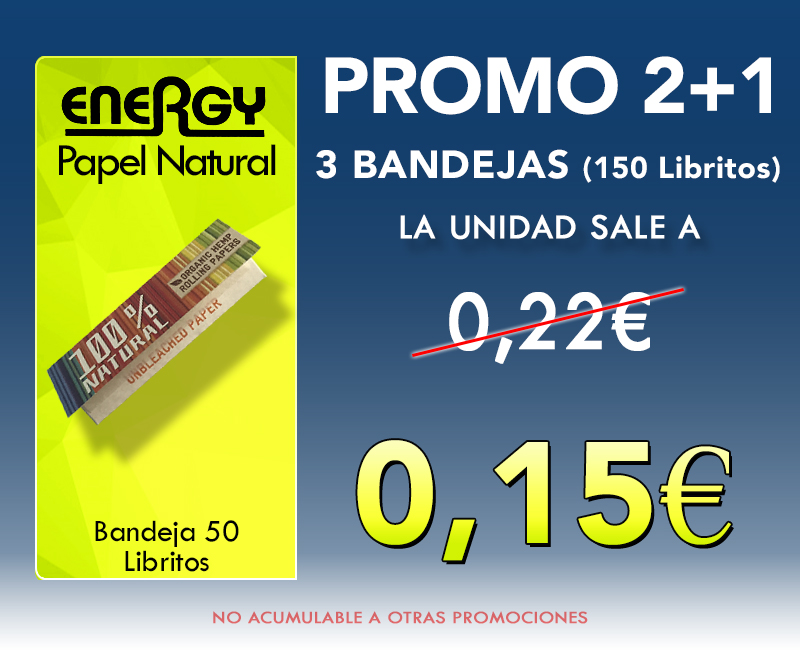 70mm ENERGY NATURAL PROMO(2+1)
