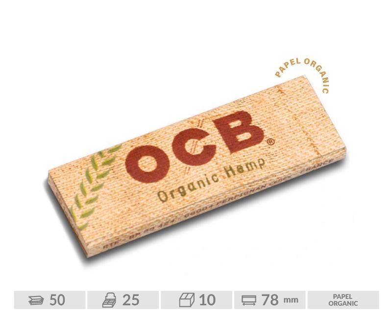 EXP. 25 LIB OCB CAÑAMO ORGANIC 1 1/4