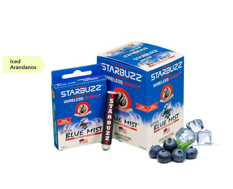 CAJA 5 BLISTER STARBUZZ EXOTIC BLUE MIST 0mg