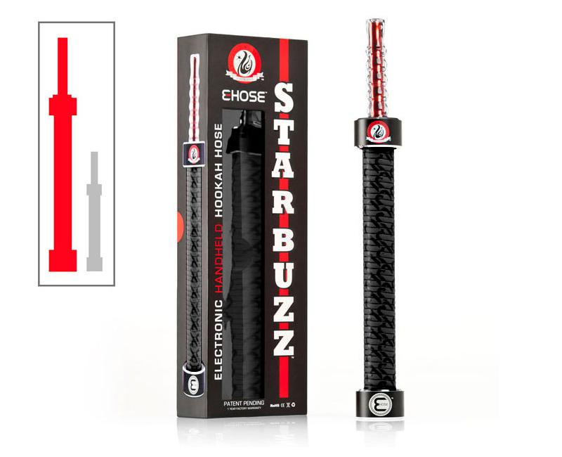 SHISHA PORTABLE STARBUZZ BLACK