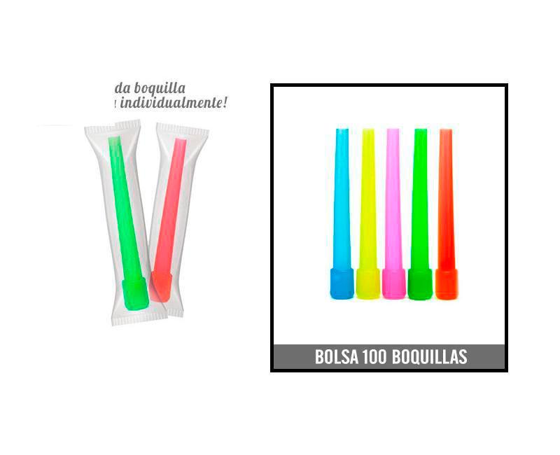 BOLSA 100 BOQUILLAS SMALL CA-SHA