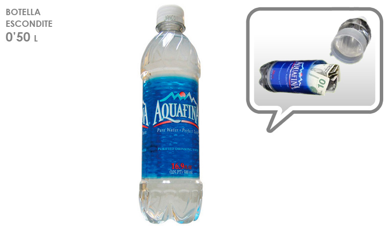 ESCONDITE BOTELLA AQUAFINA
