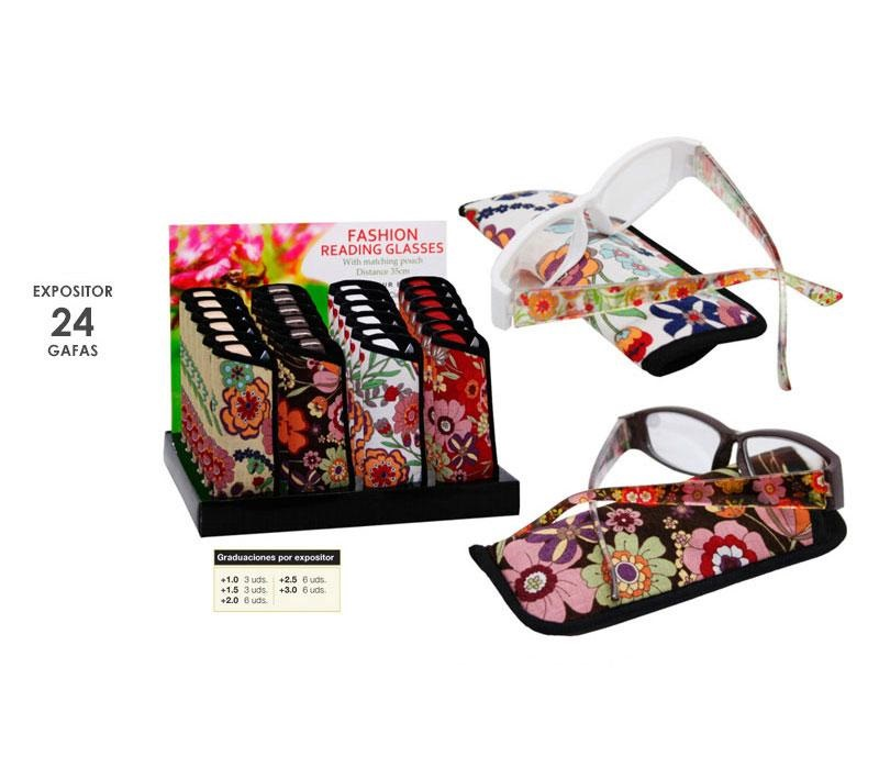 EXP 24 GAFAS UMAY FLOWER POWER