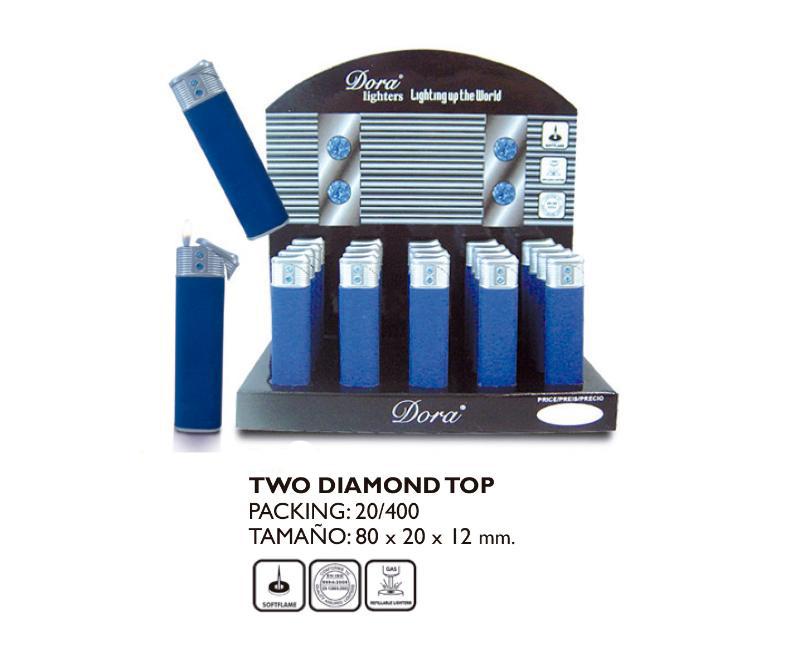 DORA EXP 20 MECHERO TWO DIAMOND TOP