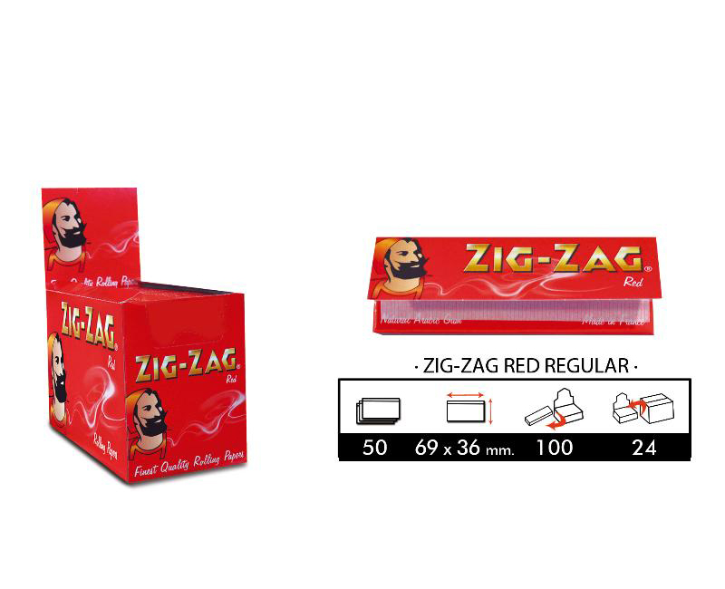 EXP 100 ZIG-ZAG RED 70mm