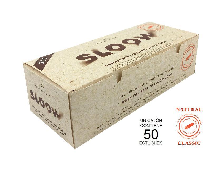 CAJON 200 NATURAL FILTER TUBES CLASSIC SLOOW