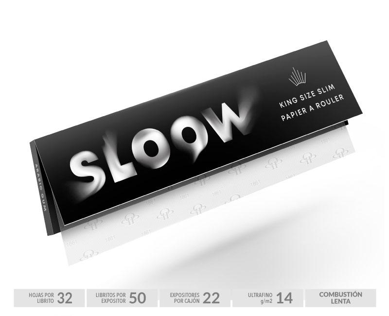 EXP 50 SLOOW BLACK KS BOOKLETS 14gr-32Hojas
