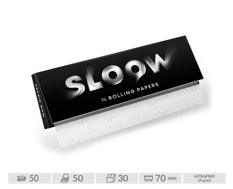 EXP 50 SLOOW BLACK 70mm (14gr-50Hojas)
