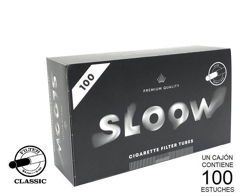 CAJON 100 FILTER TUBES CLASSIC SLOOW