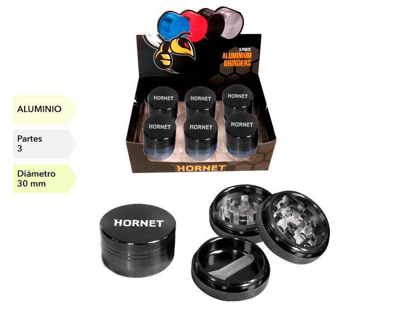 EXP 12 GRINDER HORNET ALUMINIO NEGRO 3P 40MM